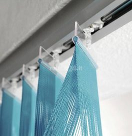 Vertical string blinds