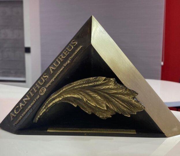 SOLEMLUX įteiktas Acanthus Aureus apdovanojimas